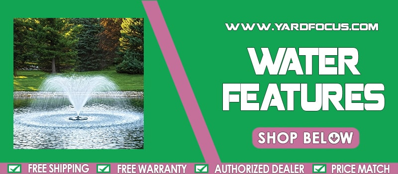 Water Features Banner