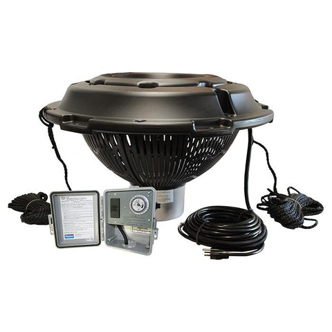 Kasco 4400VFX 1HP 120V Pond Aerator Fountain with White Background