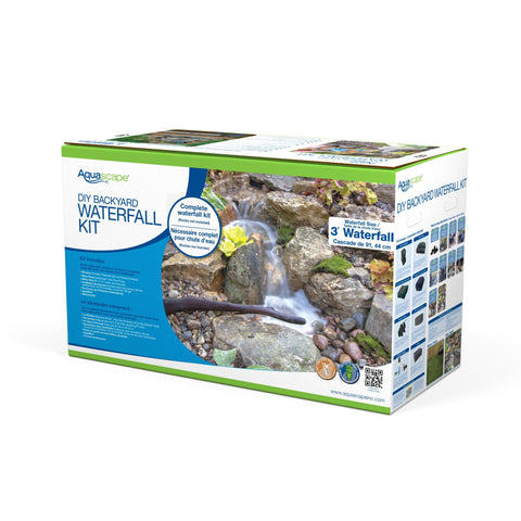 Aquascape DIY Backyard Pond Kit - 8x11 [99765] - YardFocus.com