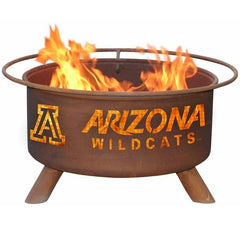 Arizona F401 Steel Fire Pit by Patina Products with White Background.