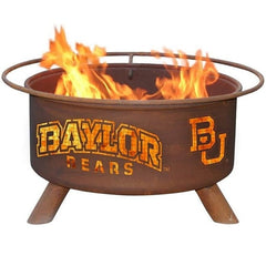 Baylor F461 Steel Fire Pit by Patina Products with white background.