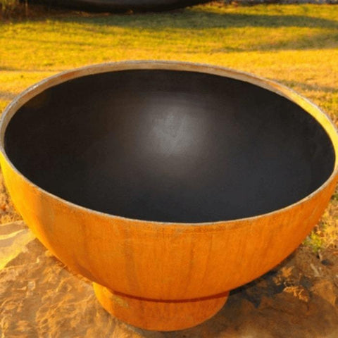 "Inner Picture of Fire Pit Crater 36"" Fire Pit by Fire Pit Art"