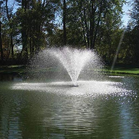 EasyPro Aqua Pond Fountain 1/2HP 115V [AF50] with Trees Background