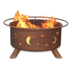 Evening Sky Steel Fire Pit by Patina Products