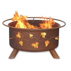Grapevines Steel Fire Pit by Patina Products