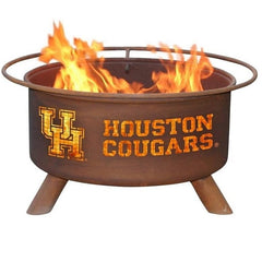 Houston F432 Steel Fire Pit by Patina Products with white background.