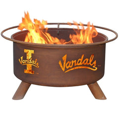 Idaho F408 Steel Fire Pit by Patina Products with white background.