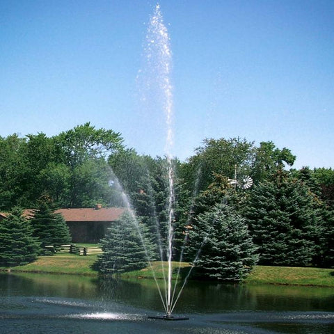 Scott Aerator Clover Pond Fountain 1.5HP 230V