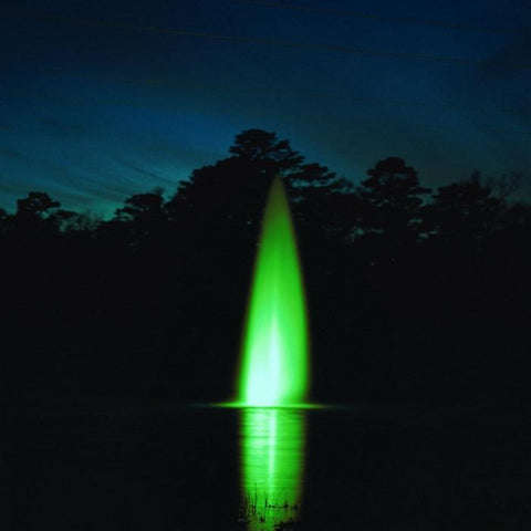 Kasco WaterGlow LED3C11 Composite Pond Fountain 3 LED Light Kit in Green Lights