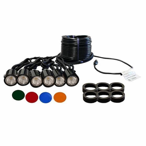 Kasco WaterGlow LED6C11 Composite Pond Fountain 6 LED Light Kit - YardFocus.com