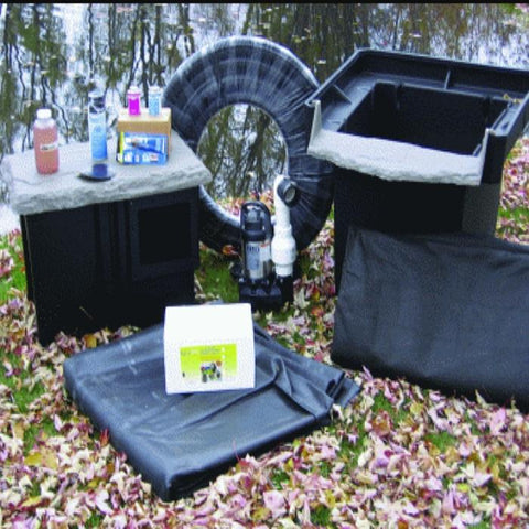 EasyPro Pro Series Medium Pond Kit 11' x 16' [EM1116FB] - YardFocus.com