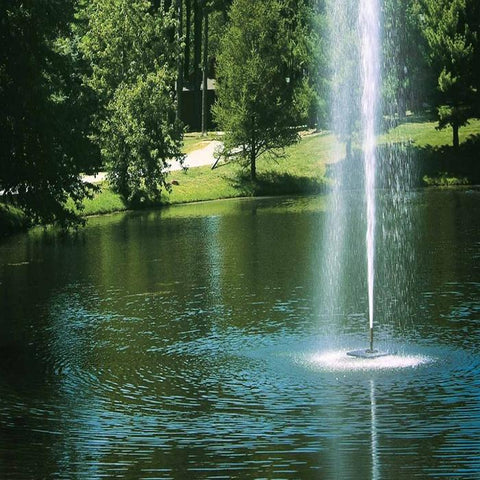 Scott Aerator Gusher Pond Fountain 1.5HP - YardFocus.com