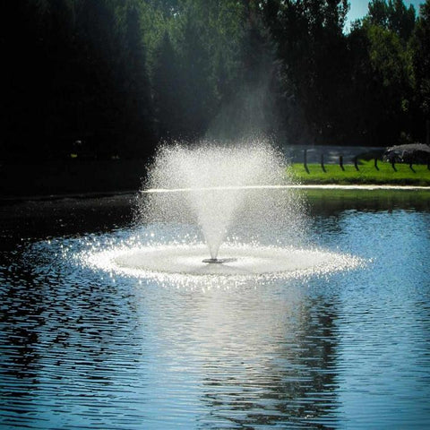 Scott Aerator DA-20 Display Fountain Aerator 2HP Shooting Water at the Pond