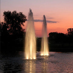 Kasco WaterGlow LED3S19 Stainless Steel Pond Fountain 3 LED Light Kit