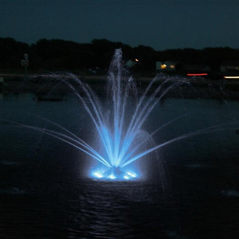 Kasco RGB3C5 Pond Fountain Composite RGB LED 3 Light Kit with White Lights