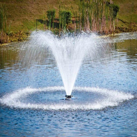 Scott Aerator DA-20 Display Fountain Aerator 1HP 230V Shooting Water at the Pond
