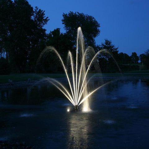 Kasco LED8012W xStream Fountain 8 LED Puck Light Kit - White - YardFocus.com