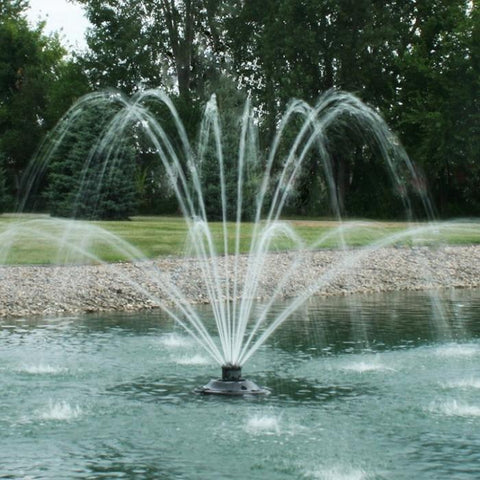 Kasco xStream 2400SF 1/2HP 120V Floating Pond Fountain - YardFocus.com