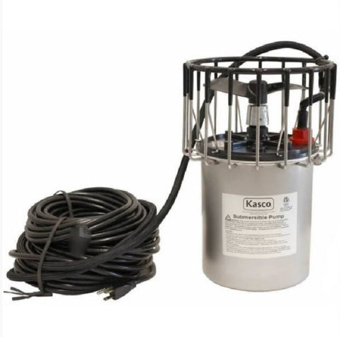 Kasco 2400 1/2HP 120v Replacement Motor