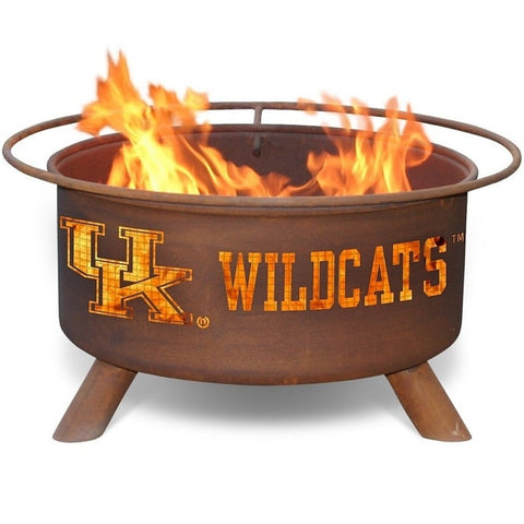 Kentucky Steel F219 Fire Pit by Patina Products with white background.