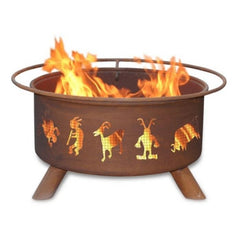 Kokopelli Steel Fire Pit by Patina Products