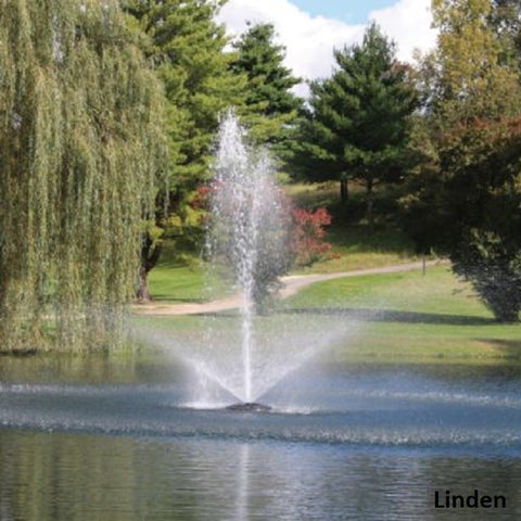Linden Kasco 3400JF 3/4HP 120V Floating Pond Fountain