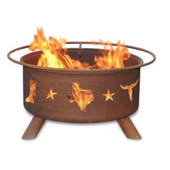 Lone Star Texas Steel Fire Pit by Patina Products
