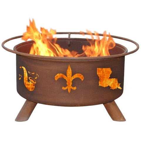 Mardi Gras Steel Fire Pit by Patina Products