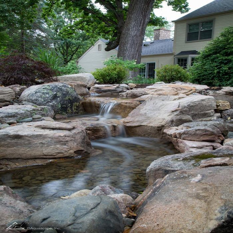Aquascape Medium Pondless Waterfall Kit 16' Stream w/ Pump [53040] - YardFocus.com