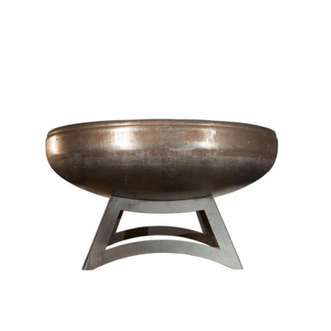 Ohio Flame Liberty Fire Pit with Hollow Base in White Background
