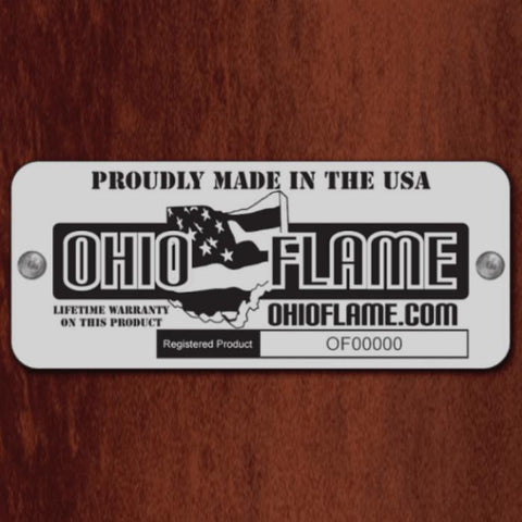 Ohio Flame Patriot Fire Pit Company Logo