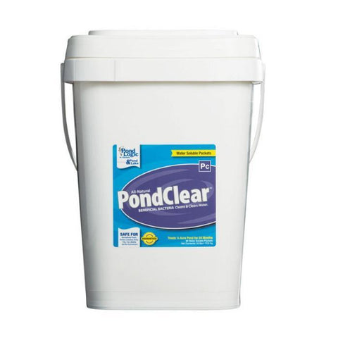 Pond Logic PondClear Water Treatment - 96 Packets - YardFocus.com