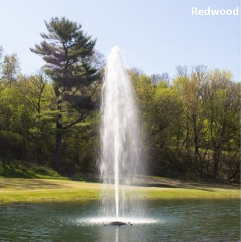 Kasco 2.3JF 2HP 240V Floating Pond Fountain with Redwood nozzle