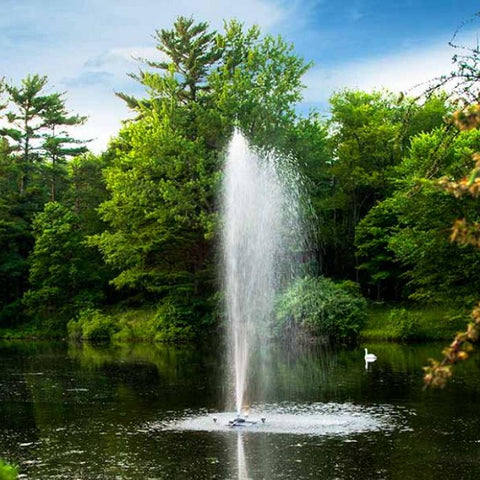 Scott Aerator Triad Pond Fountain - YardFocus.com