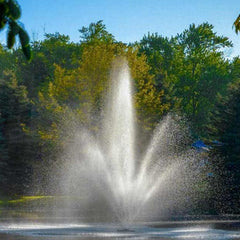 Scott Aerator Triad 1HP Pond Fountain