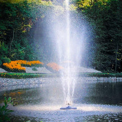 Scott Aerator Twirling Waters Pond Fountain 1/2HP - YardFocus.com