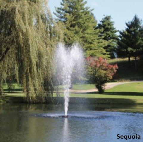 Sequoia Kasco 3400JF 3/4HP 120V Floating Pond Fountain