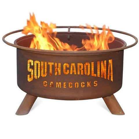 South Carolina F429 Steel Fire Pit by Patina Products with white background.