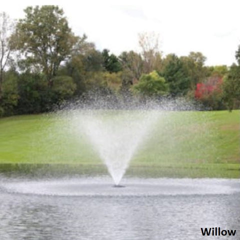 Willow Kasco 3400JF 3/4HP 120V Floating Pond Fountain