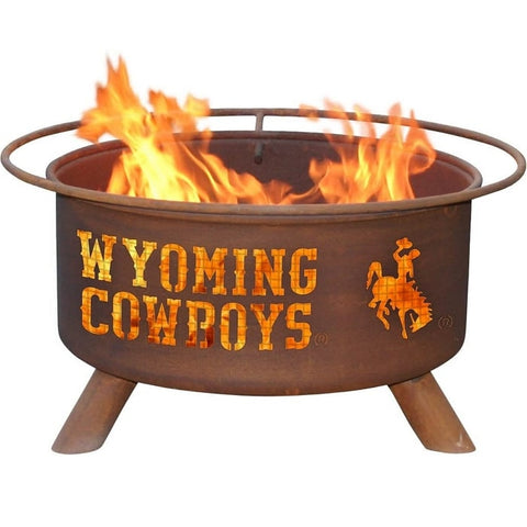 Wyoming F236 Steel Fire Pit by Patina Products with white background.