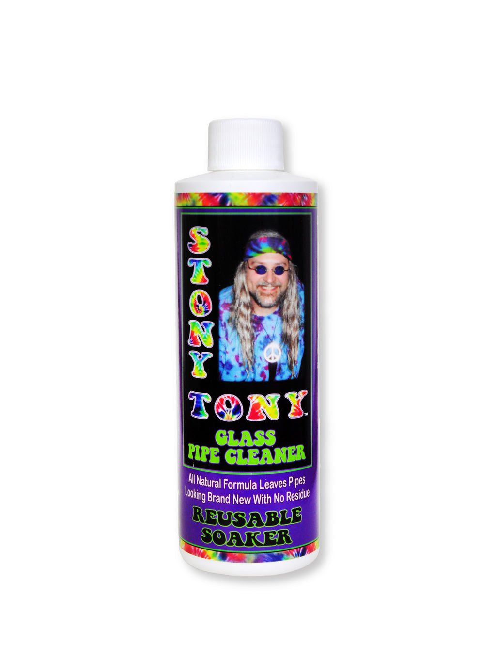 Stony Tony Glass Pipe Cleaner 8oz