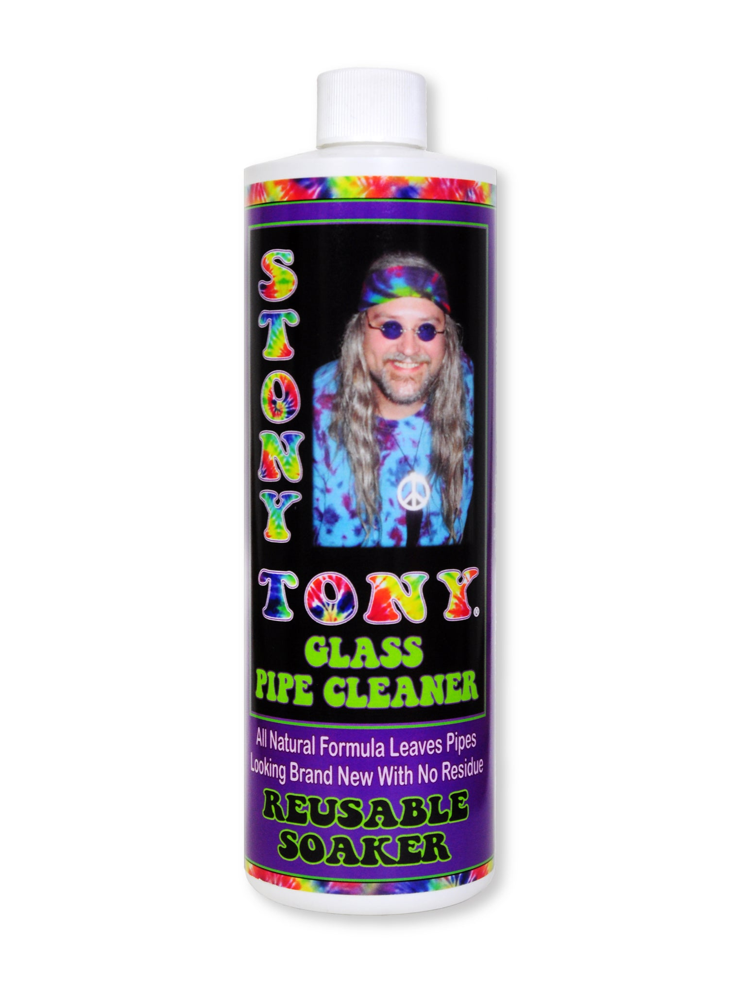 Stony Tony Glass Pipe Cleaner 16oz