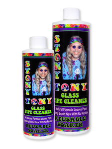 Stony Tony Glass Pipe Cleaner 8oz & 16oz