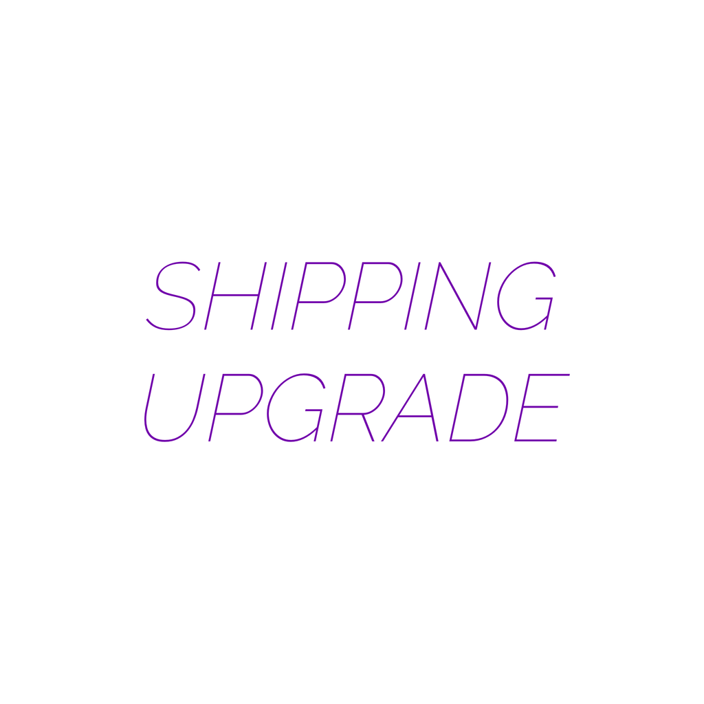 Shipping Upgrade