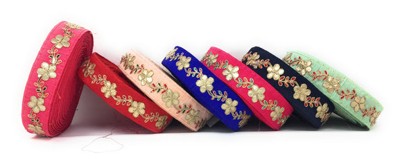 Embroidered Lace Trims