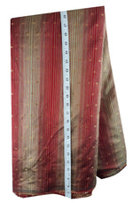 ethnic fabric online fabric online india Embroidered Polyester Red, Gold 46 inches Wide 1677
