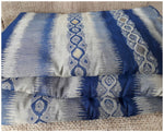 buy embroidered fabric buy material online Embroidery Cotton Navy Blue, Light Grey, Bluish Grey 51 inches Wide 1739
