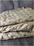 blouse fabric online shopping embroidery cloth online Chanderi Silk Beige 42 inches Wide 1711