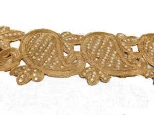 lace trim by the yard decorative trim ribbon Copper Copper Guipure Polyester Less than 4 inch