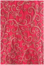 Load image into Gallery viewer, dress material online dress material Embroidery Georgette Pink 41 inches Wide 8002